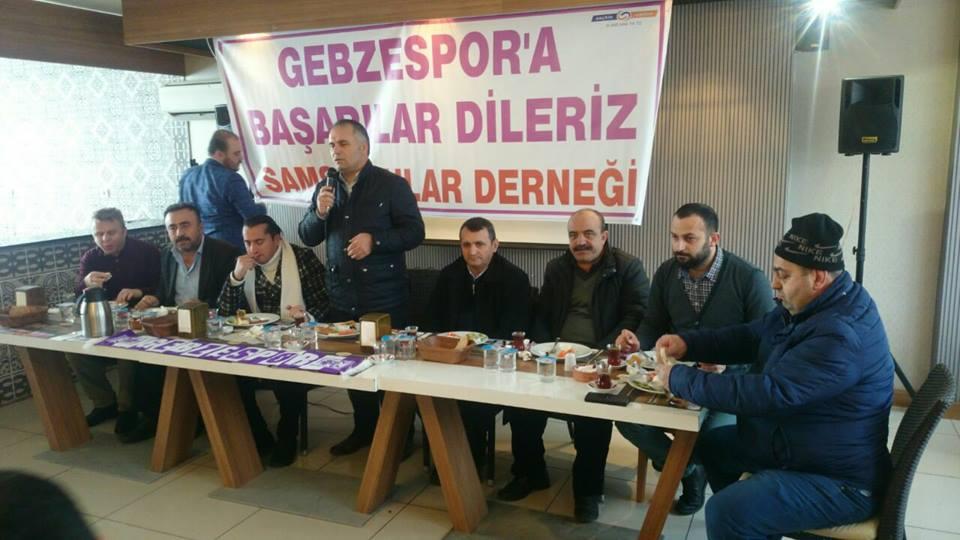 Samsunlular Gebzespor maçına çıkarma yapacak !