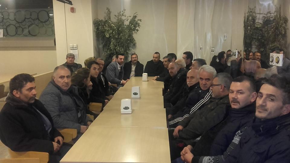 MHP Gebze yönetiminden Sancaklı'ya geçmiş olsun ziyareti