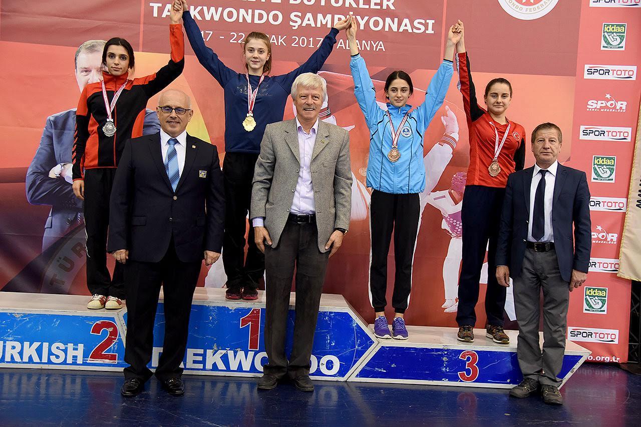 Türkiye üçüncülüğü kazandı