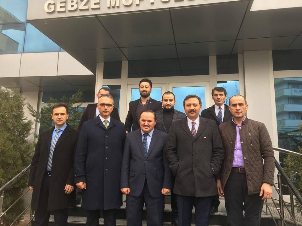 AK Parti'den yeni müftüye ve MEB'e ziyaret!
