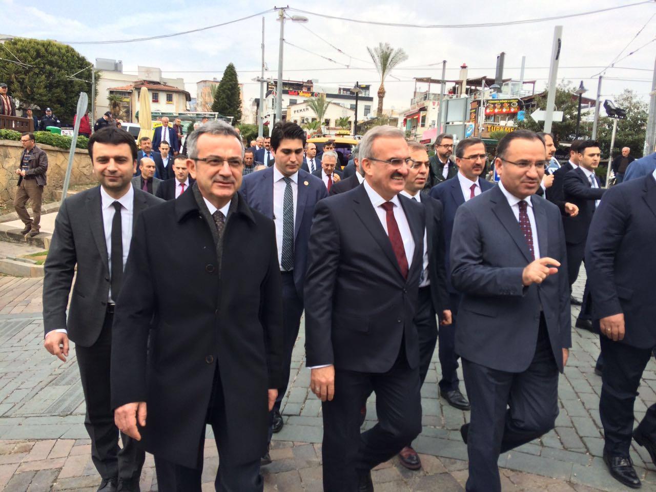 Başkan Köşker Antalya'da!