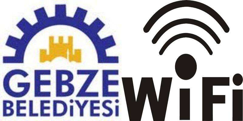 Gebze Belediyesi'nden ücretsiz wifi hizmeti