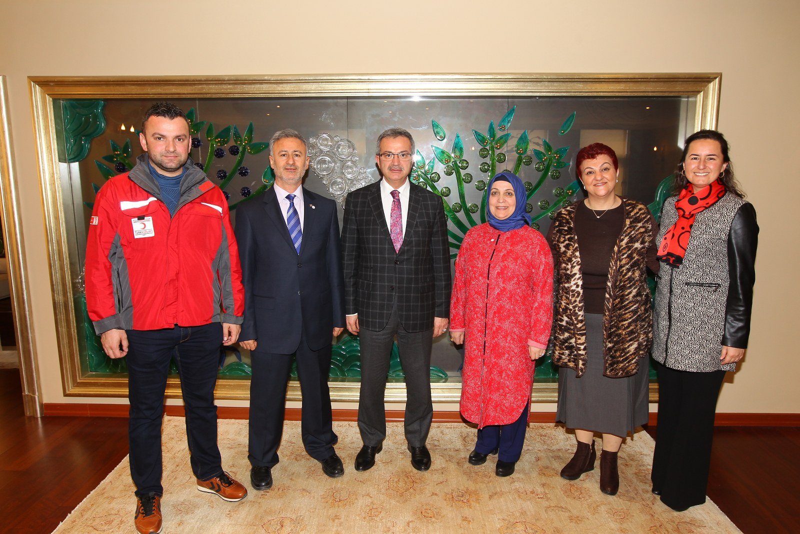 Türk Kızılayı'ndan Başkan Köşker'e ziyaret