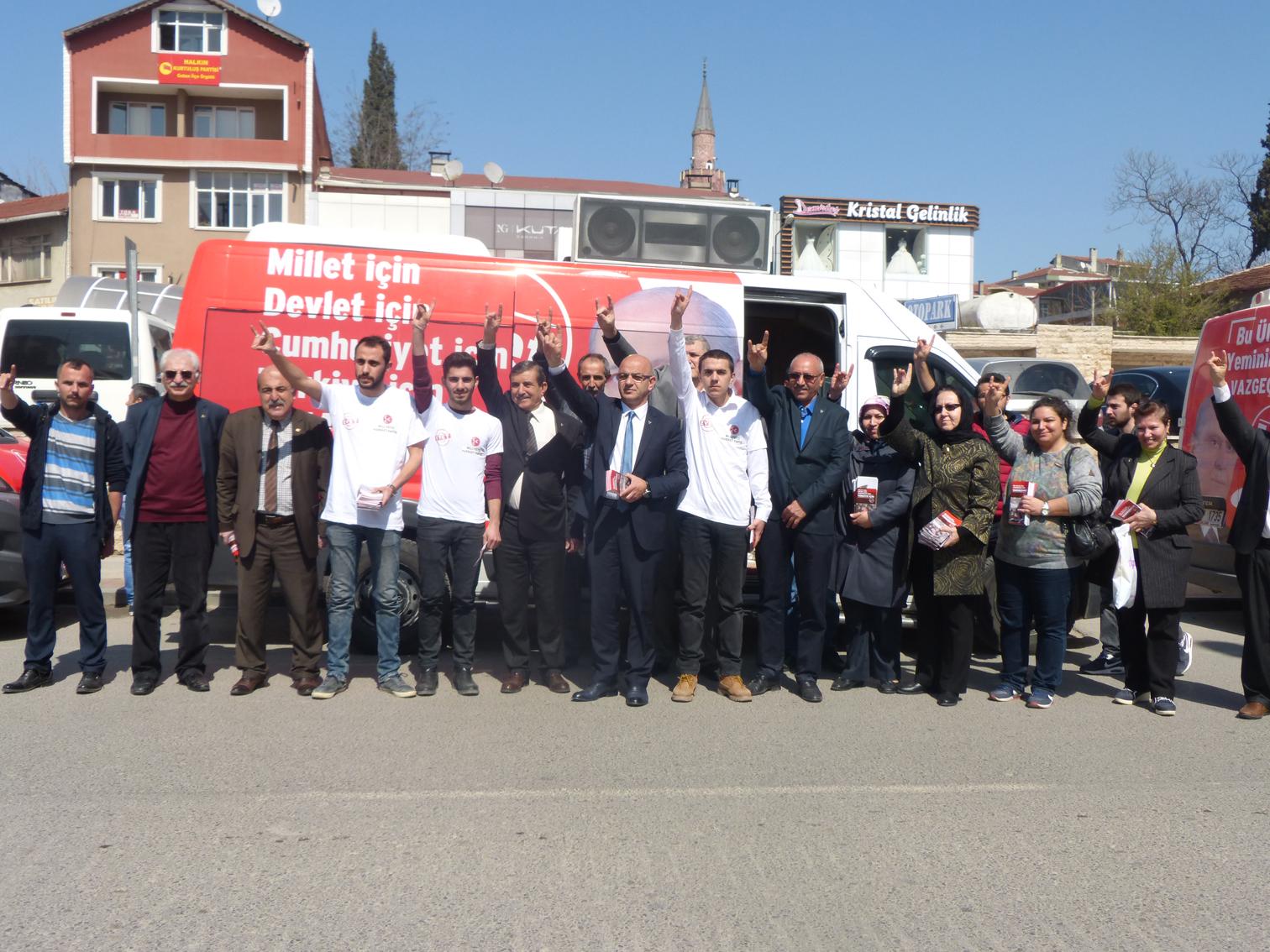 MHP'de artık tek gündem 'referandum'