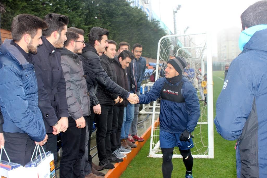 Başakşehir Spor Kulübü'nü ziyaret ettiler