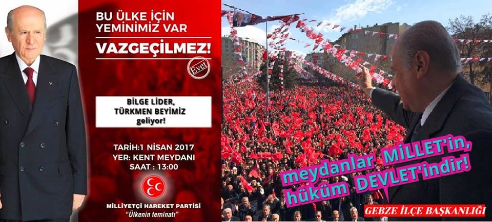 MHP Gebze Sakarya'ya Çıkartma Yapacak!