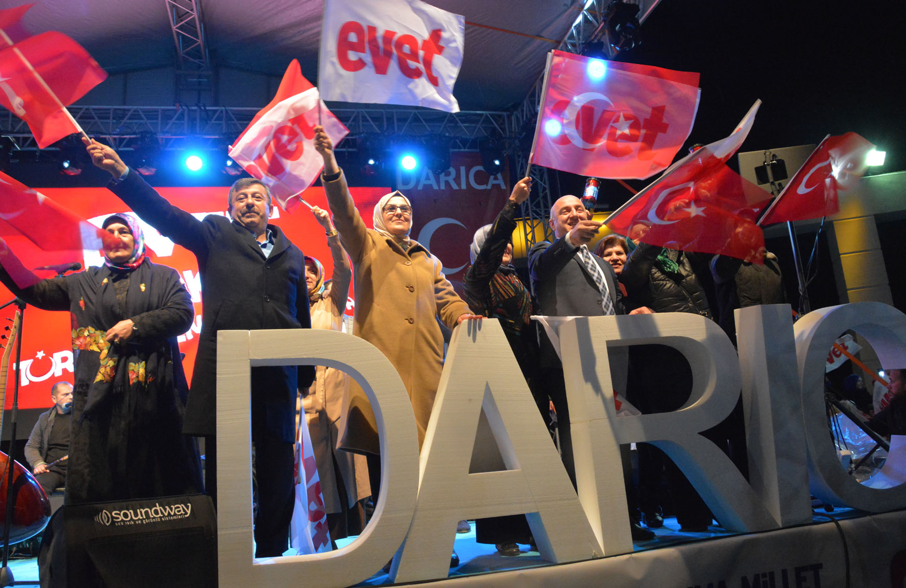 DARICA 'EVET'E YÜRÜDÜ!