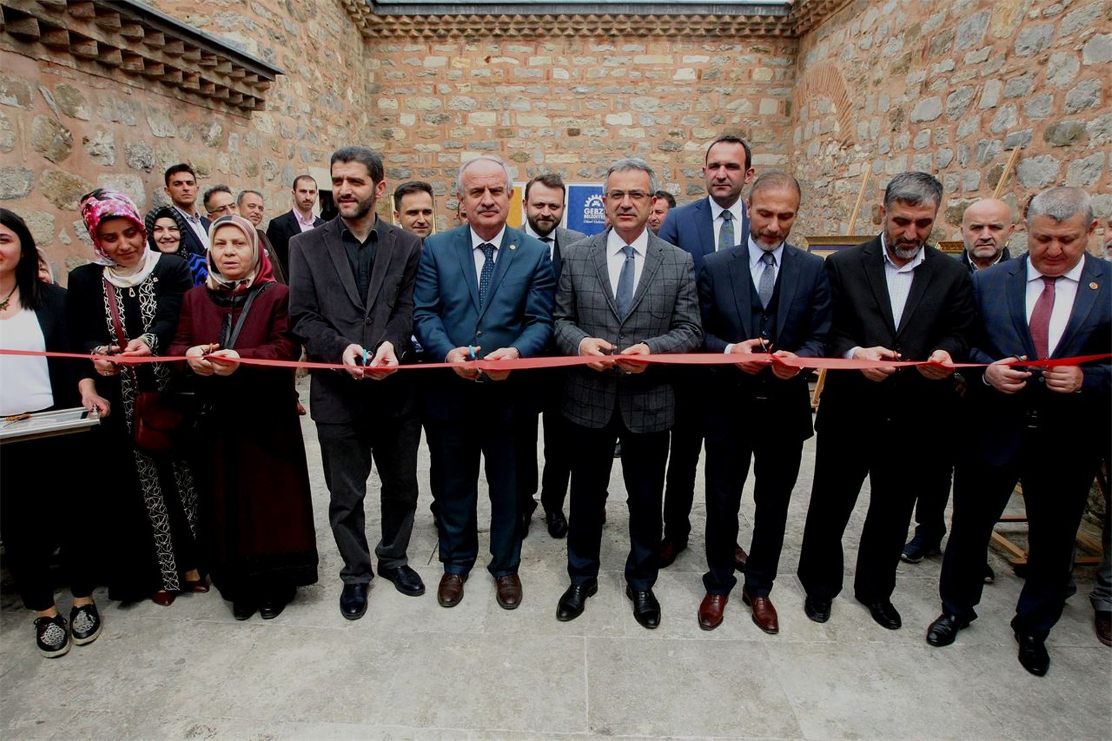 GESMEK Esma'ül Hüsna Hat Sergisi açıldı