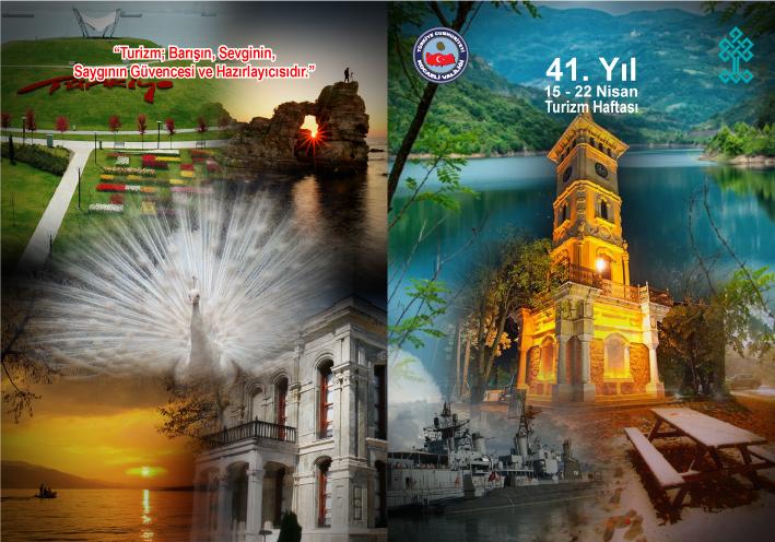 Turizm Haftası 15 Nisan'da başlıyor