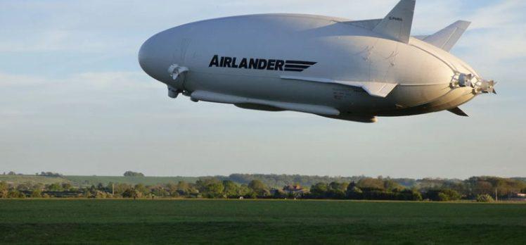 Dünyanın En Büyük Hava Aracı Test Uçuşlarını Başarıyla Tamamladı