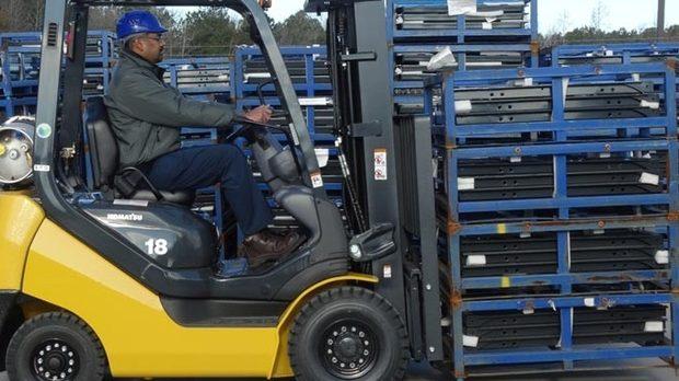 KOMEK'ten Forklift Kursu