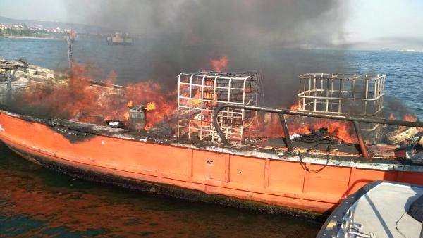 Tanker Yangınında Kayıp İşçinin Cesedine Ulaşıldı