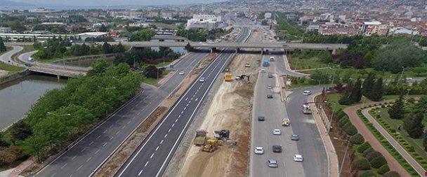 D-100 İstanbul-Ankara yönü trafiğe açıldı
