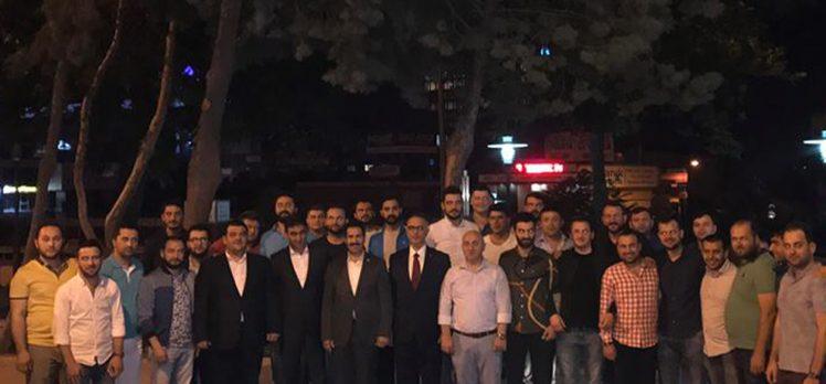 İlçe Başkanları Sahur'da Buluştu