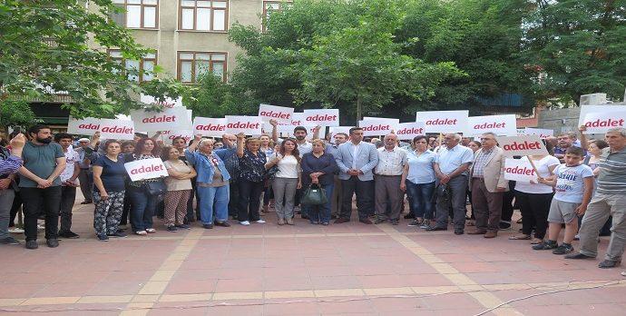 Adalet Yürüyüşüne Darıca'dan Destek!