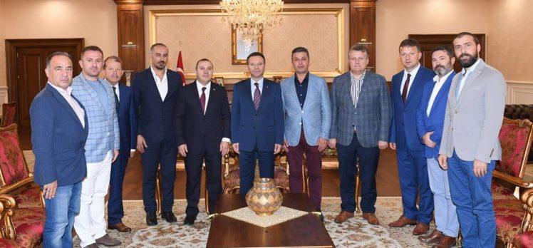 TÜKSİAD'dan Muhteşem Vali Aksoy'a Ziyaret