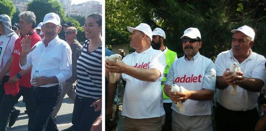 Kılıçdaroğlu Gebze'de yürüdü!