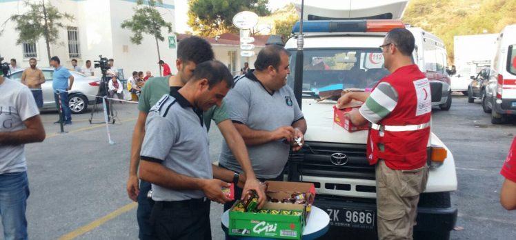 Kızılay, Depremzedelerin Yardımına Koştu