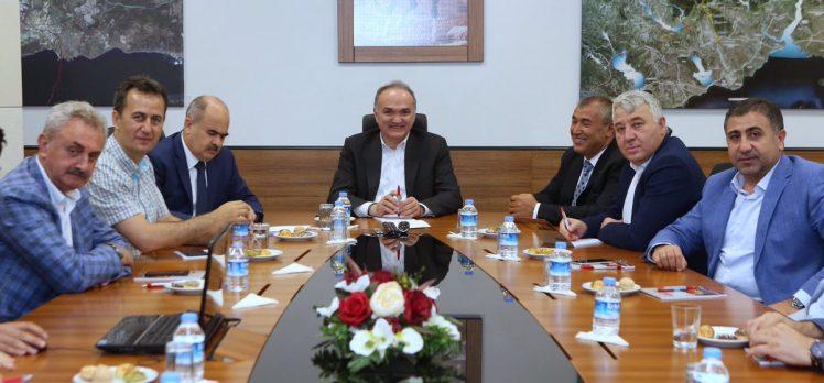 Bakan Özlü Gebze'de OSB'yi görüştü!