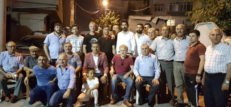 CHP'li Törk Gençleri Uğurladı