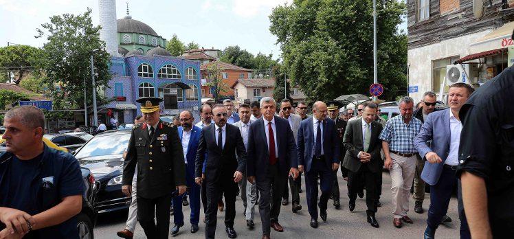 Karaosmanoğlu 15 Temmuz Ziyaretlerine Başladı