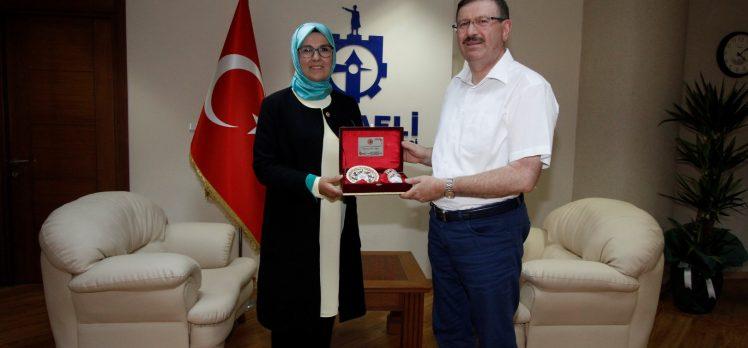 Katırcıoğlu'ndan İlhan Bayram'a Ziyaret