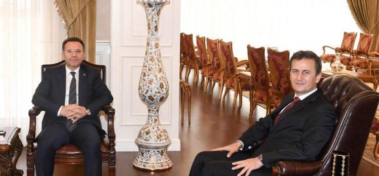 Rektör Görgün'den Vali Aksoy'a Ziyaret!