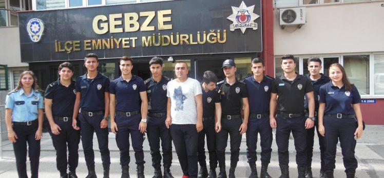 Stajyer Polisler İş Başı Yaptı!