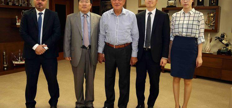 """Başkan Karaosmanoğlu, """"Kore İle Gönül Birlikteliğimiz Var"""""""