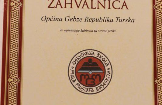 Başkan Köşker'e Bosna'dan Teşekkür
