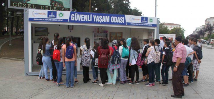 Gebze'de Deprem Bilinci Aşılanıyor