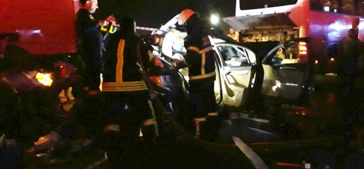Dilovası Rampasında Zincirleme Trafik Kazası: 1 Ölü, 3 Yaralı