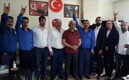 Belediye Başkanı'ndan MHP Darıca'ya Ziyaret
