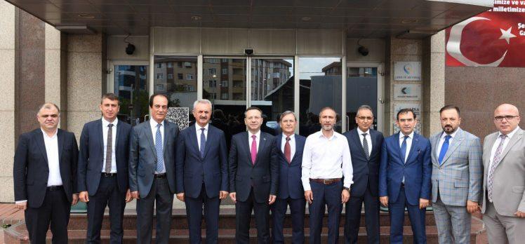 Vali Aksoy'dan Gebze'de İade-i Ziyaretler