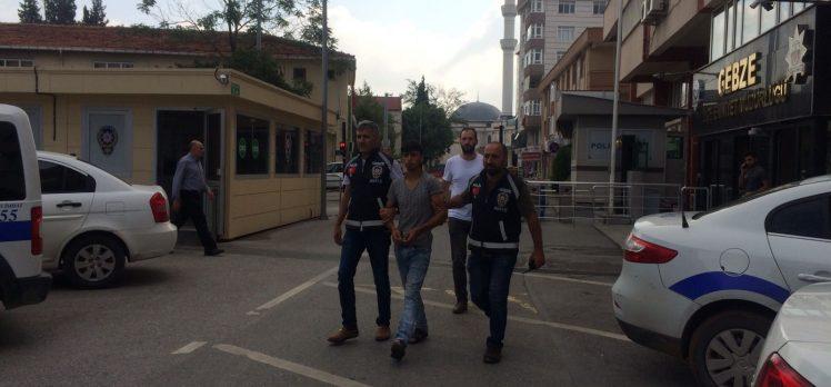 Gebze'de Suriyeli Hırsız Telefon Çaldı