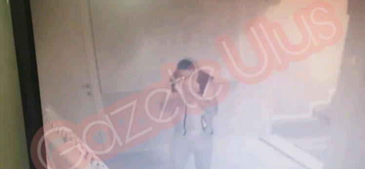 Gebze'de Sürünerek Hırsızlık Yaptı