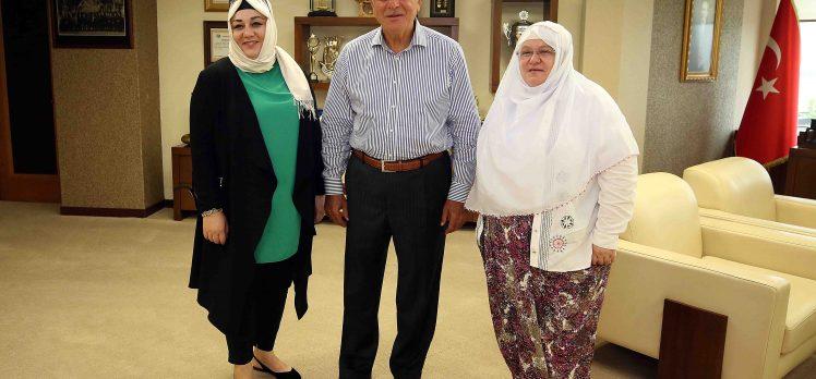 Başkan Karaosmanoğlu, Zeynep Başkanı Ağırladı