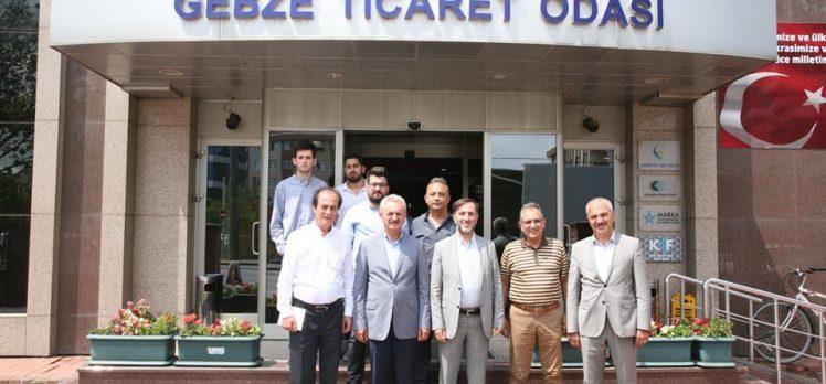 İran Büyükelçiliğinden GTO'ya Ziyaret