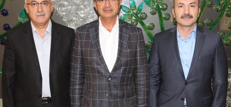 Başhekim ve PTT Başmüdüründen Başkan Köşker'e Ziyaretler