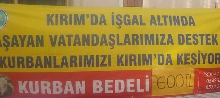 Gebze Kırım Türkleri Derneği'nden Kampanya