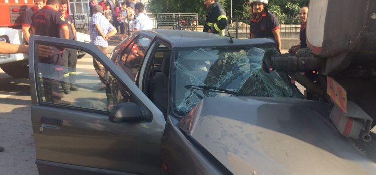 Gebze'de Kaza: 1 Ağır Yaralı
