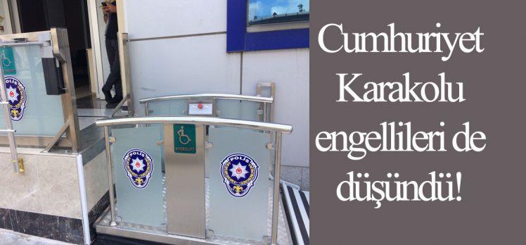 Cumhuriyet Karakolu Engellileri De Düşündü!