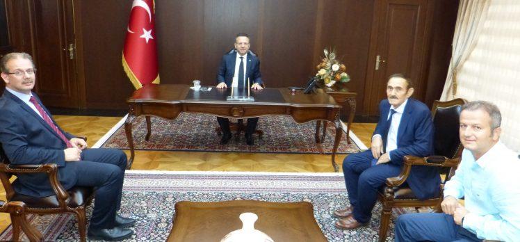 Kadıoğlu'ndan Vali Aksoy'a Ziyaret!