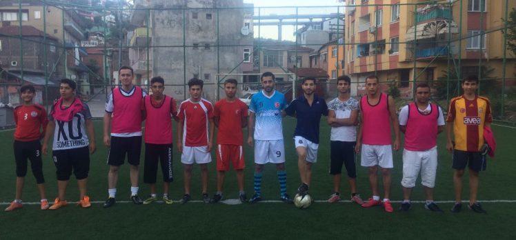 Roman Kursiyerlerden Futbol Maçı