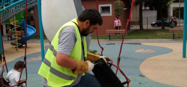 Gebze'de Parklar Yenileniyor