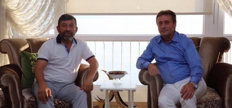 Başkan Karabacak'a Ziyaretler Devam Ediyor