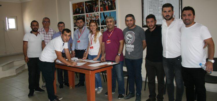 CHP Gebze'de Delege Seçimleri Başladı