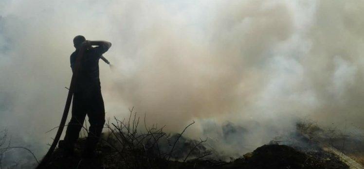 Gebze'de Yangınların Arkası Kesilmiyor