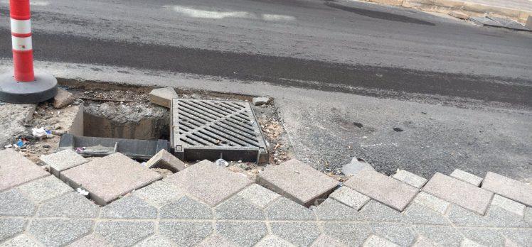 Gebze'de Yol Çalışması Yarım Kaldı