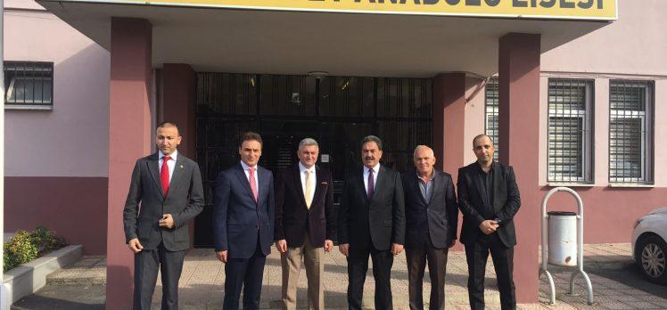 Cumhuriyet Anadolu Lisesi  Kaymakam Güler'i Ağırladı
